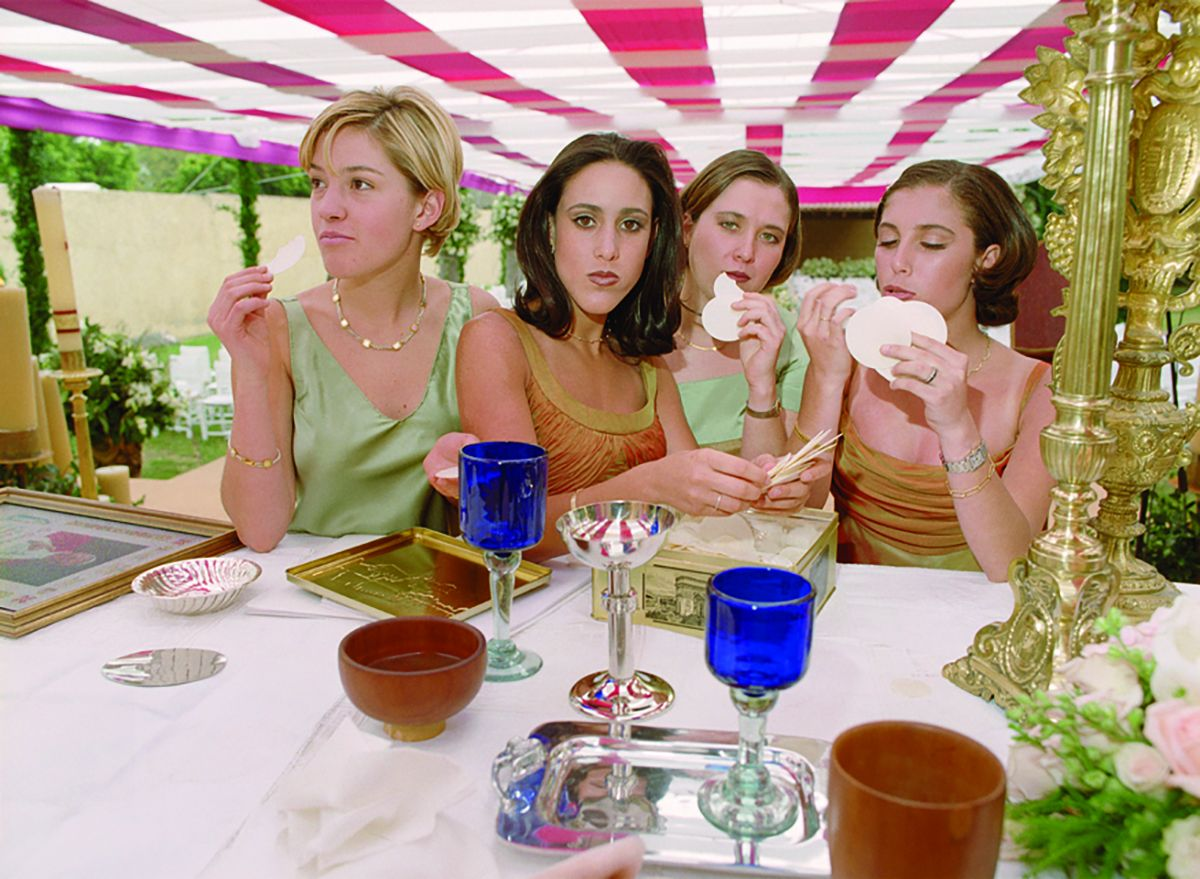 Daniela Rossell  Untitled (Ricas y Famosas) Bridesmaids Wafer, 1999  C-print  30 x 40 inches (76.2 x 101.6 cm)