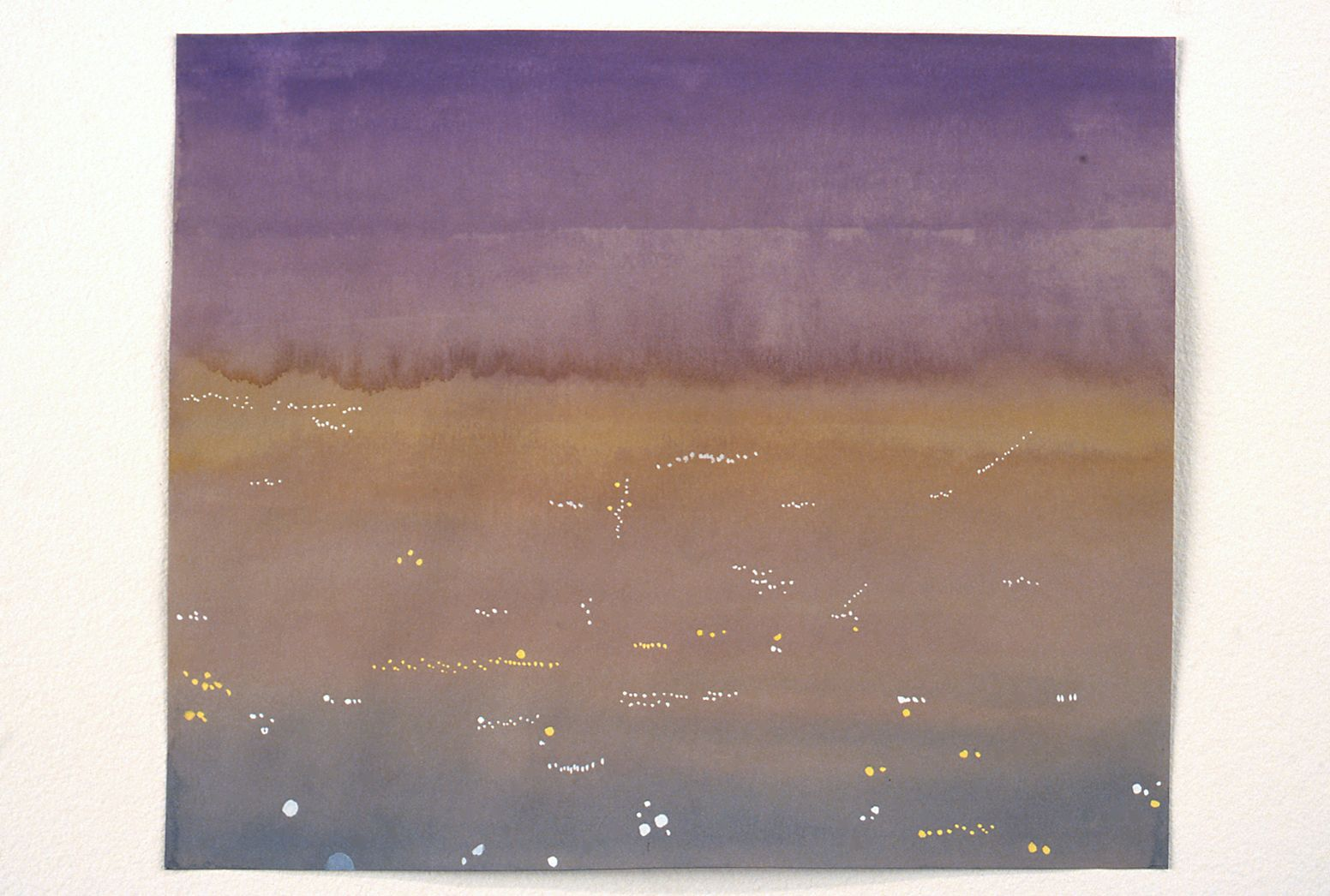 David Korty, Untitled, 2000, watercolor on paper, 8 1/4 x 10 inches