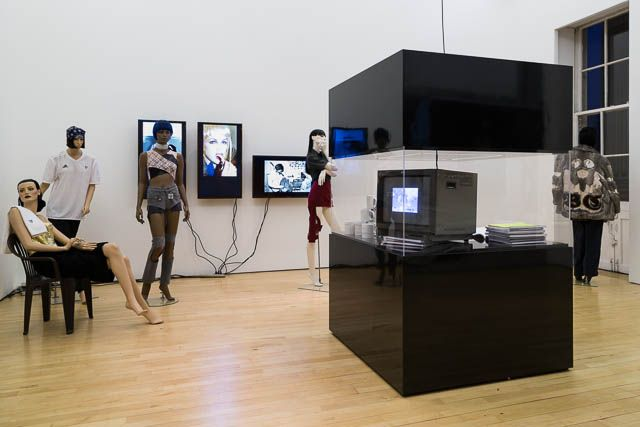 Bernadette Corporation, installation view,Bernadette Corporation: 2000 Wasted Years, ICA, London, 2013