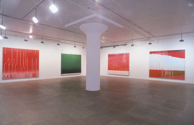Installation view, Greene Naftali, New York, 2001