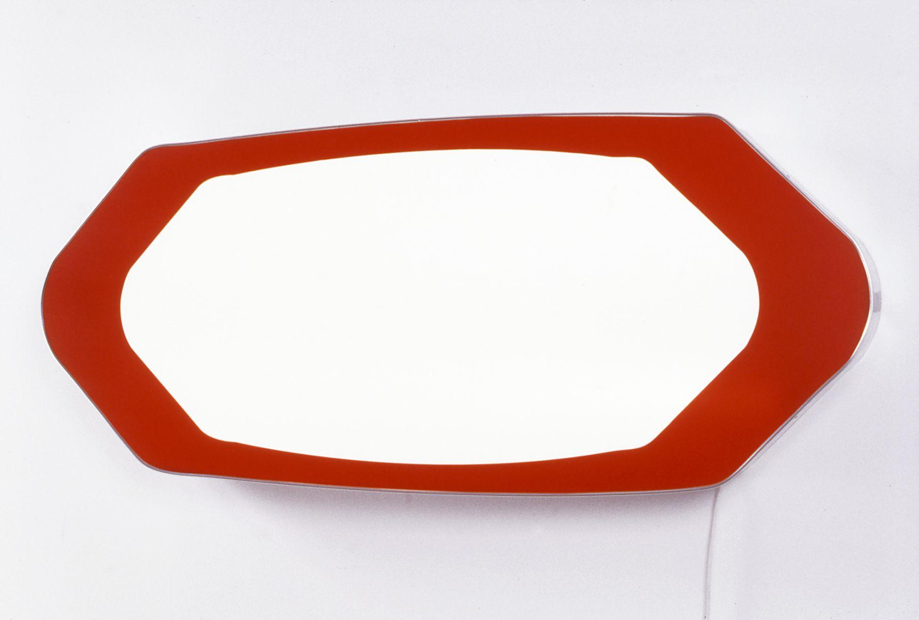 Daniel Pflumm Untitled, 1999 Lightbox 55 x 24 3/4 x 6 inches (139.7 x 62.87 x 15.24 cm)