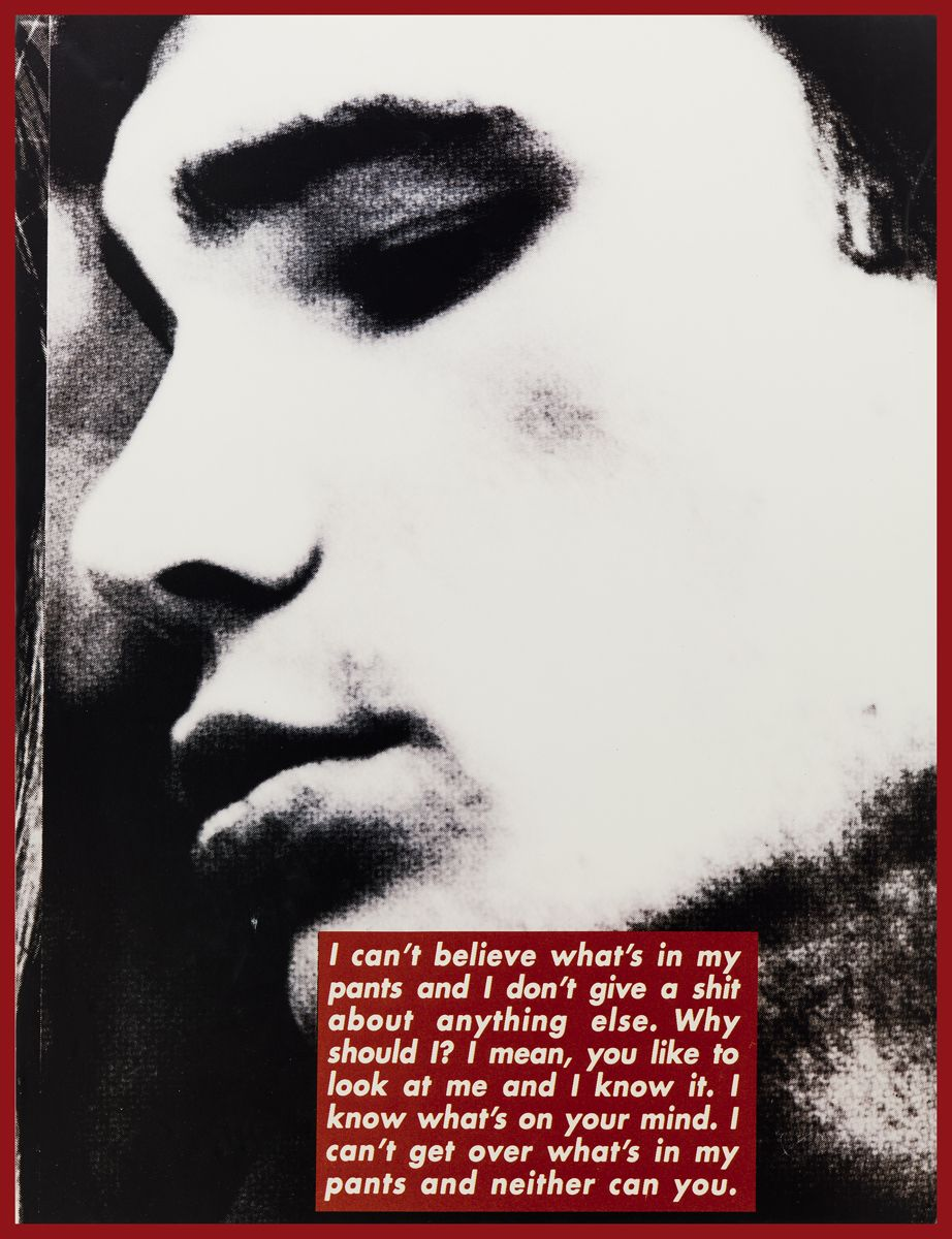 Barbara Kruger, Untitled (Project for Dazed and Confused), 1996 (detail)