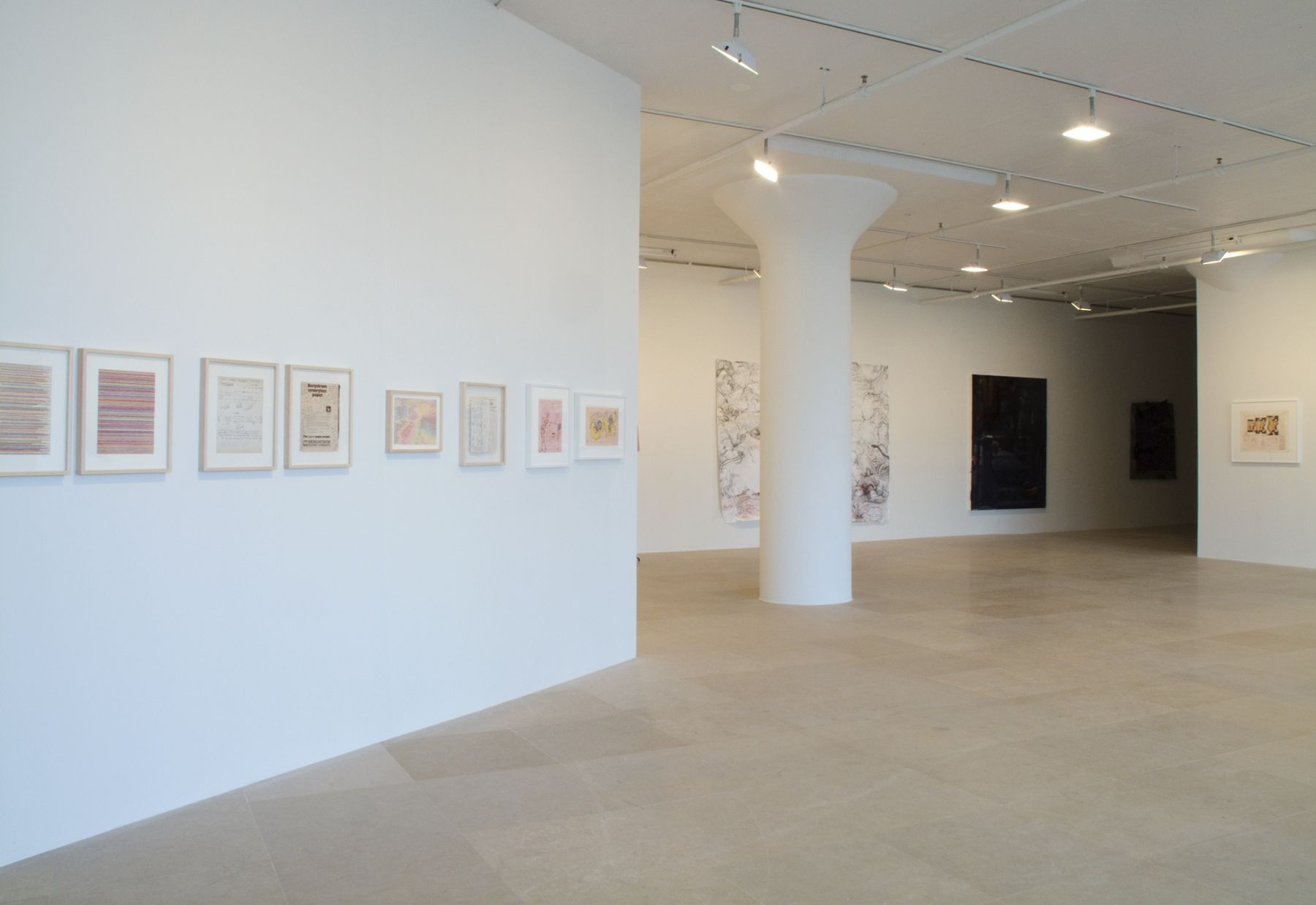 Installation view, The Pursuer, Greene Naftali, New York, 2010