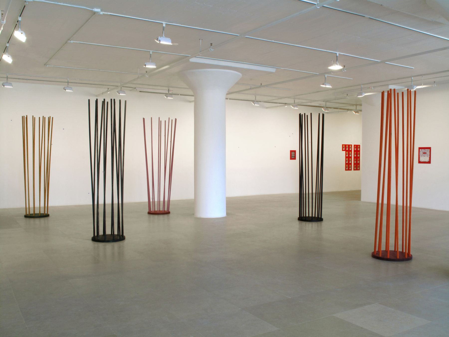 Installation view, Constitution, Greene Naftali, New York, 2009