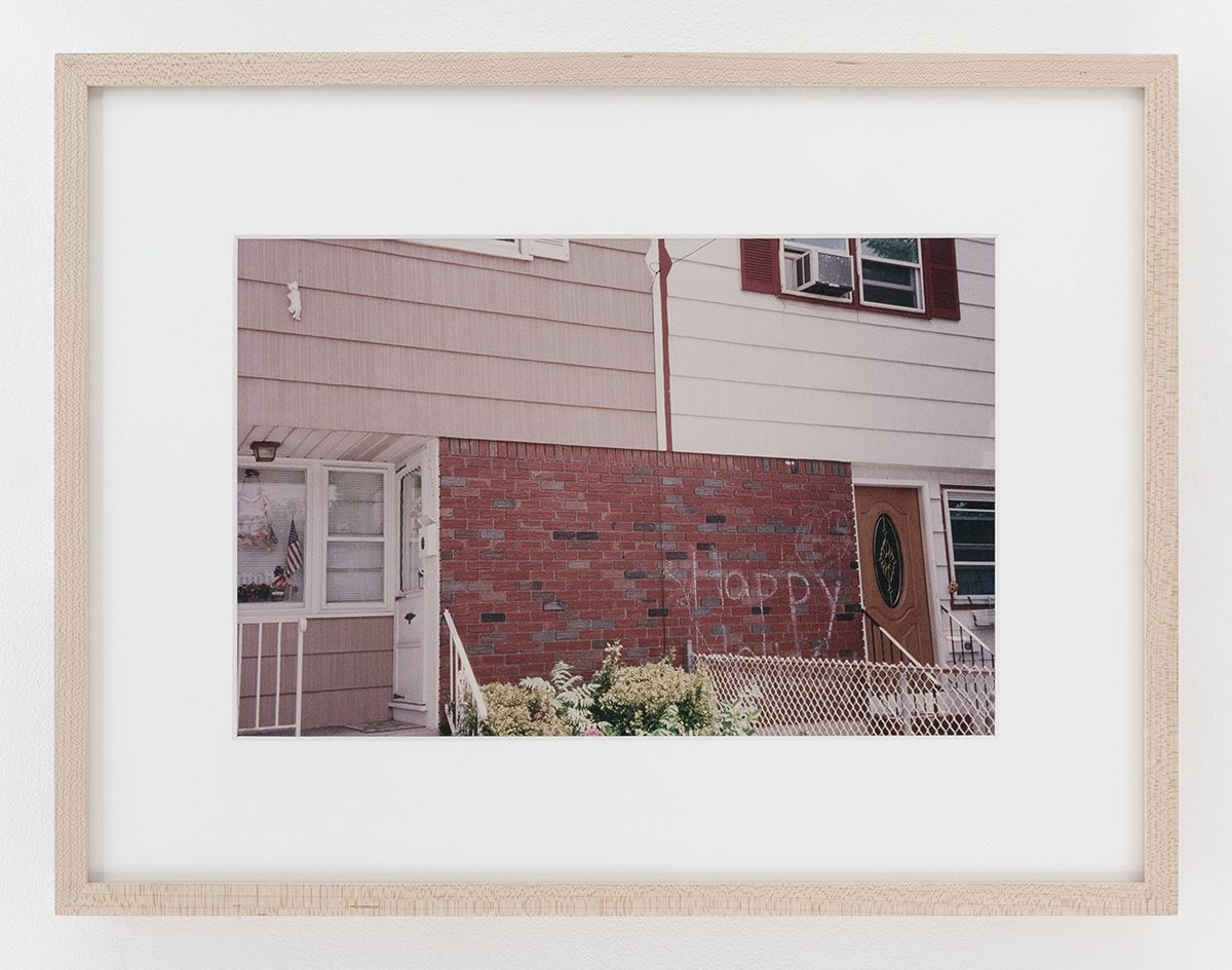 Dan Graham Happy, Bayonne, NJ, 1978 Image: 8 x 12 inches (20.3 x 30.5 cm) Frame: 13 1/4 x 17 1/4 x 1 1/4 inches (33.7 x 43.2 x 2.5 cm)