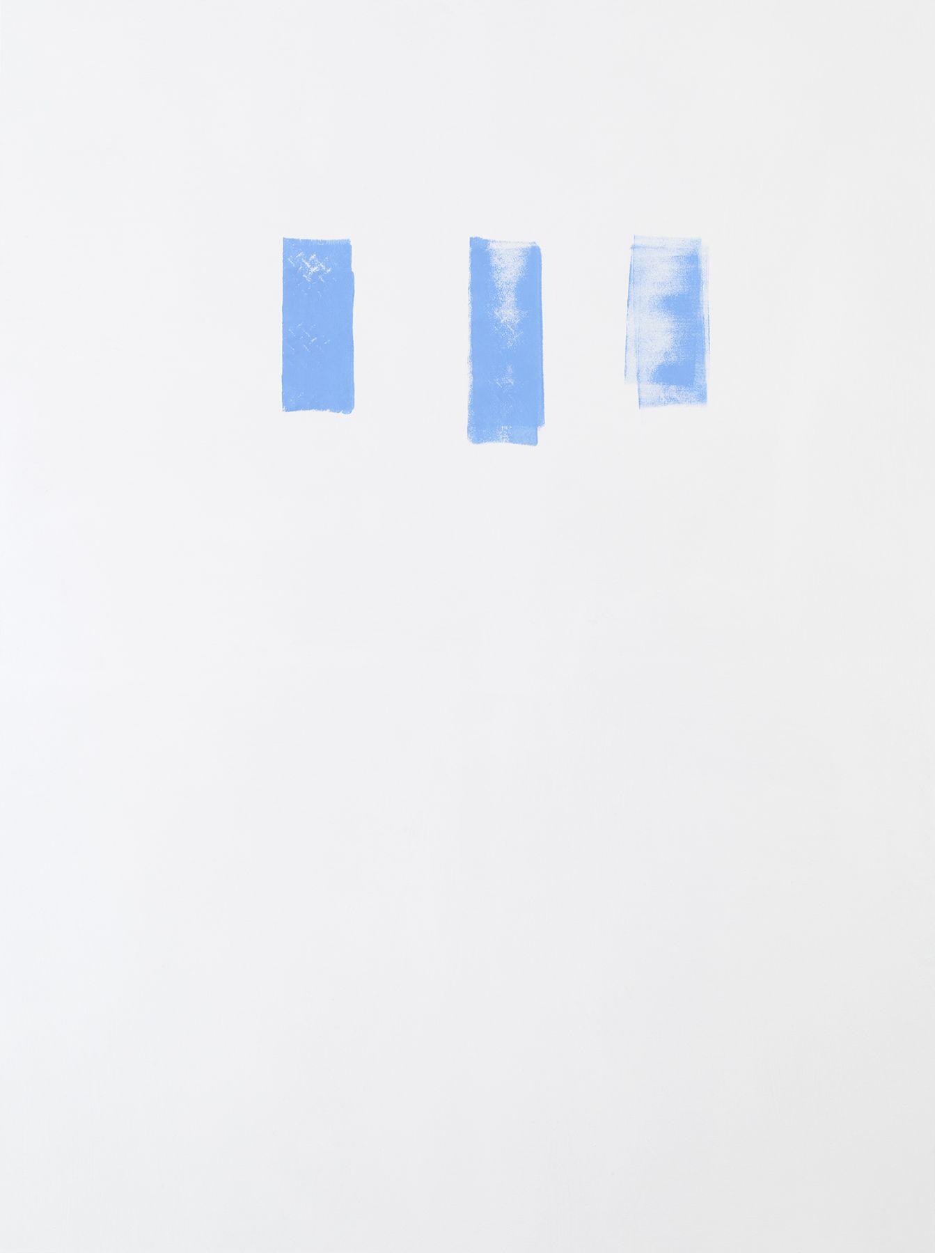 Michael Krebber MK.301, 2015 Acrylic on canvas  78 3/4 x 59 1/8 inches (200 x 150.2 cm)