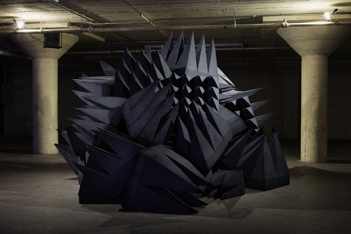 Lutz Bacher Magic Mountain, 2015