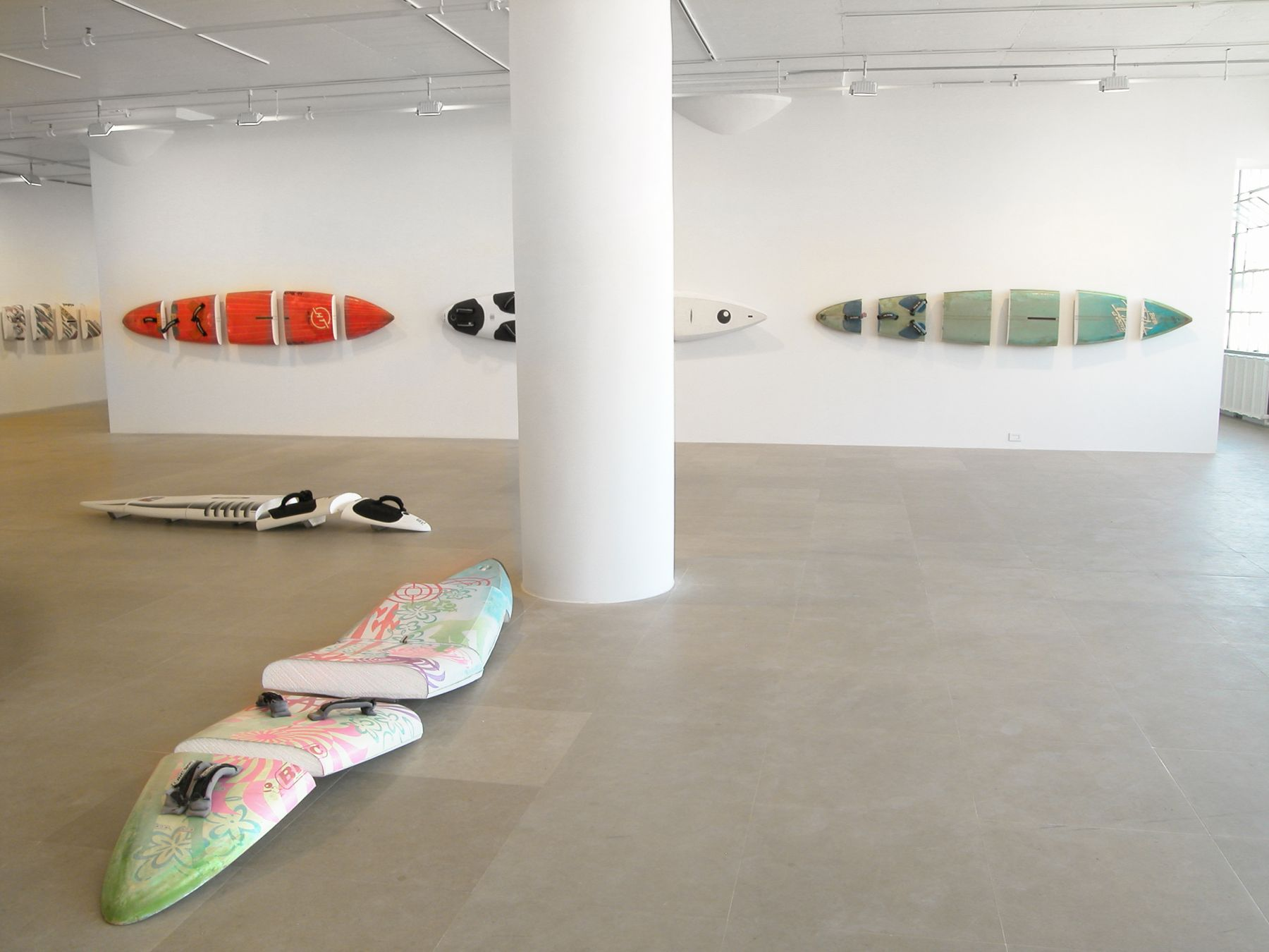 Michael Krebber, Installation view, Greene Naftali, New York, 2008