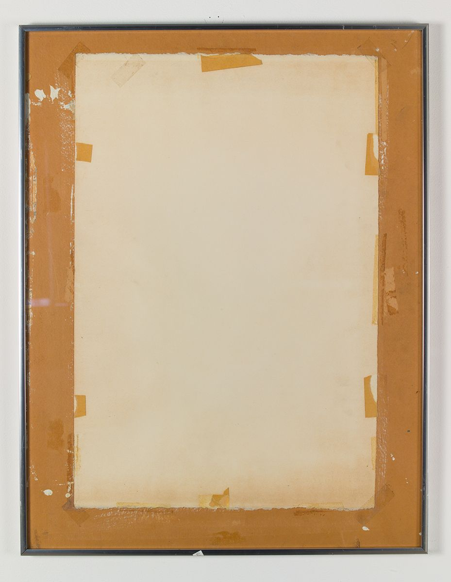 Misfit Mishaps, 2013, Matted artwork reversed in frame, 26 1/2 x 20 1/2 inches (67.3 x 52.1 cm)