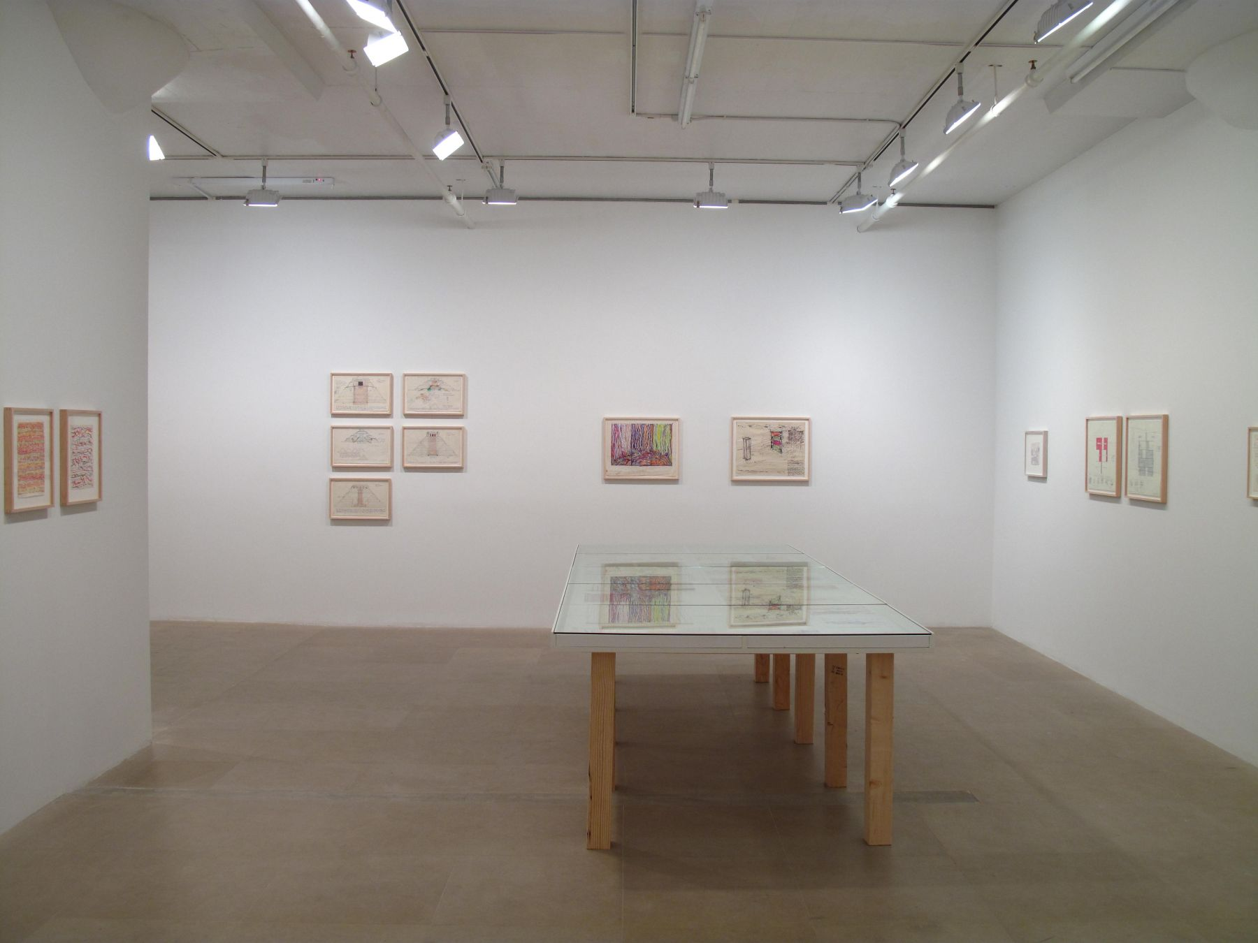 Paul Sharits, Installation view, Greene Naftali, New York, 2009