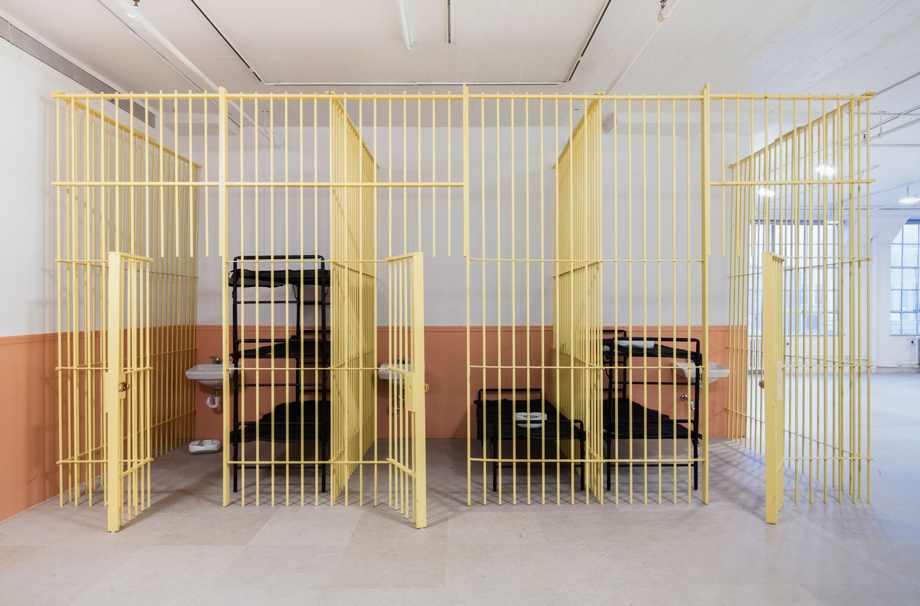 Tony Conrad  WiP, 2013  Installation view, Greene Naftali, New York, 2013