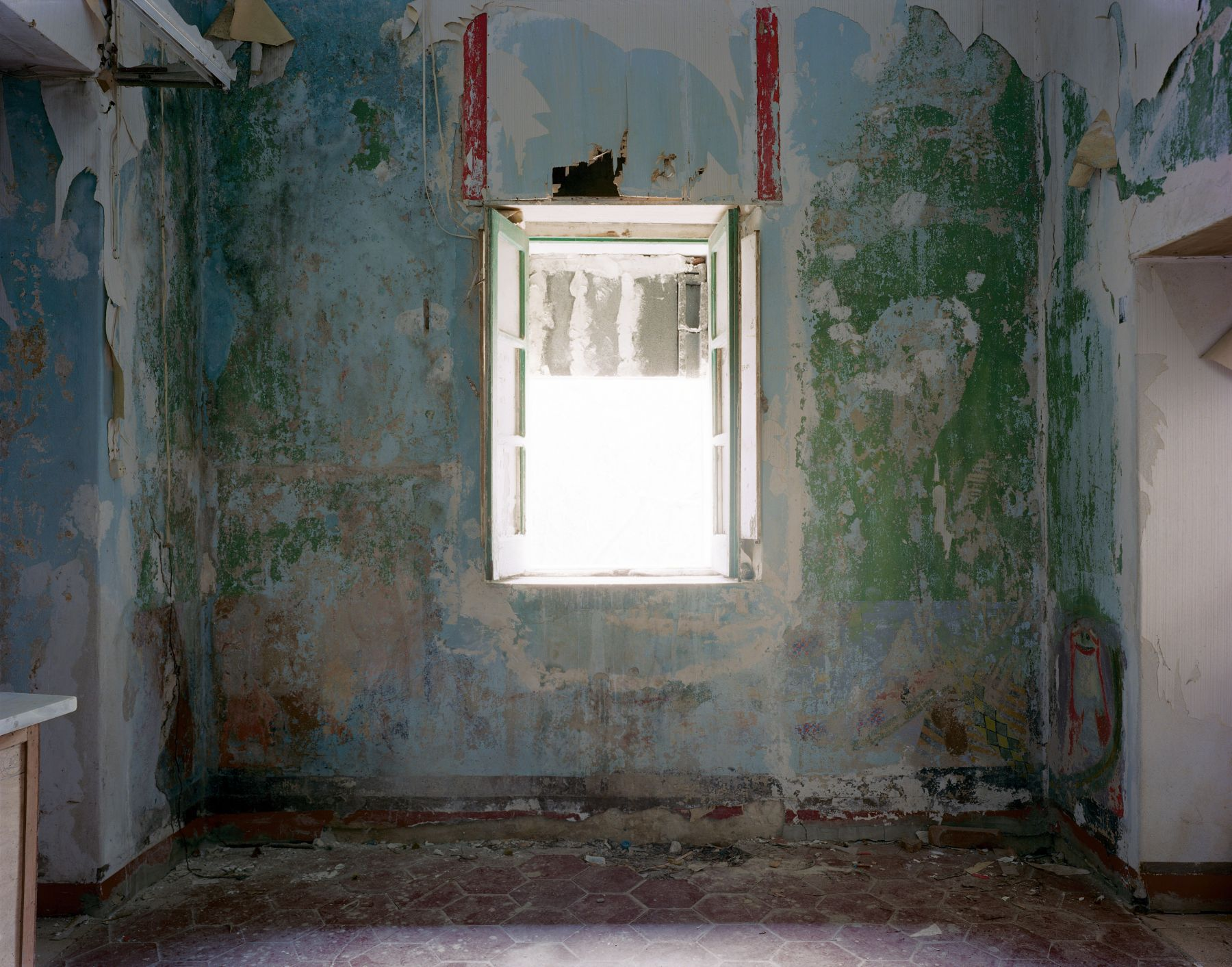 Room of Nightmares #2, 2005,  c-print,  28 ¾ x 33 ½ inches