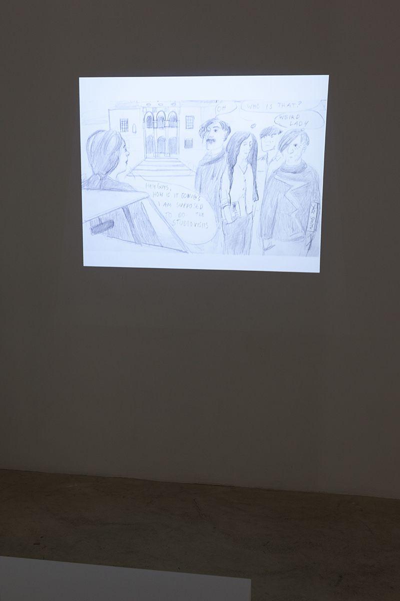 Amelie von Wulffen  Am kühlen Tisch, 2013  Digital slide show  28:33 min  AvW.152