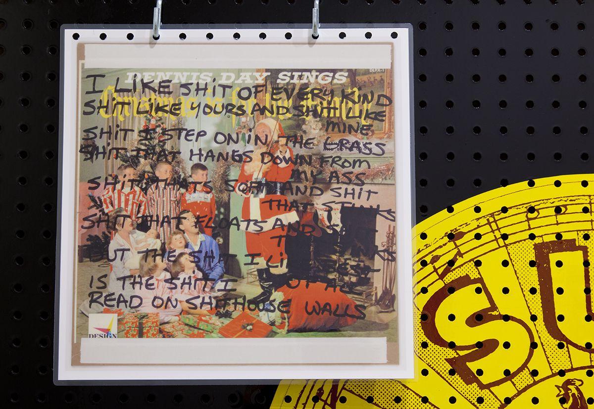 Allen Ruppersberg,El Segundo Record Club, 2014 (detail)