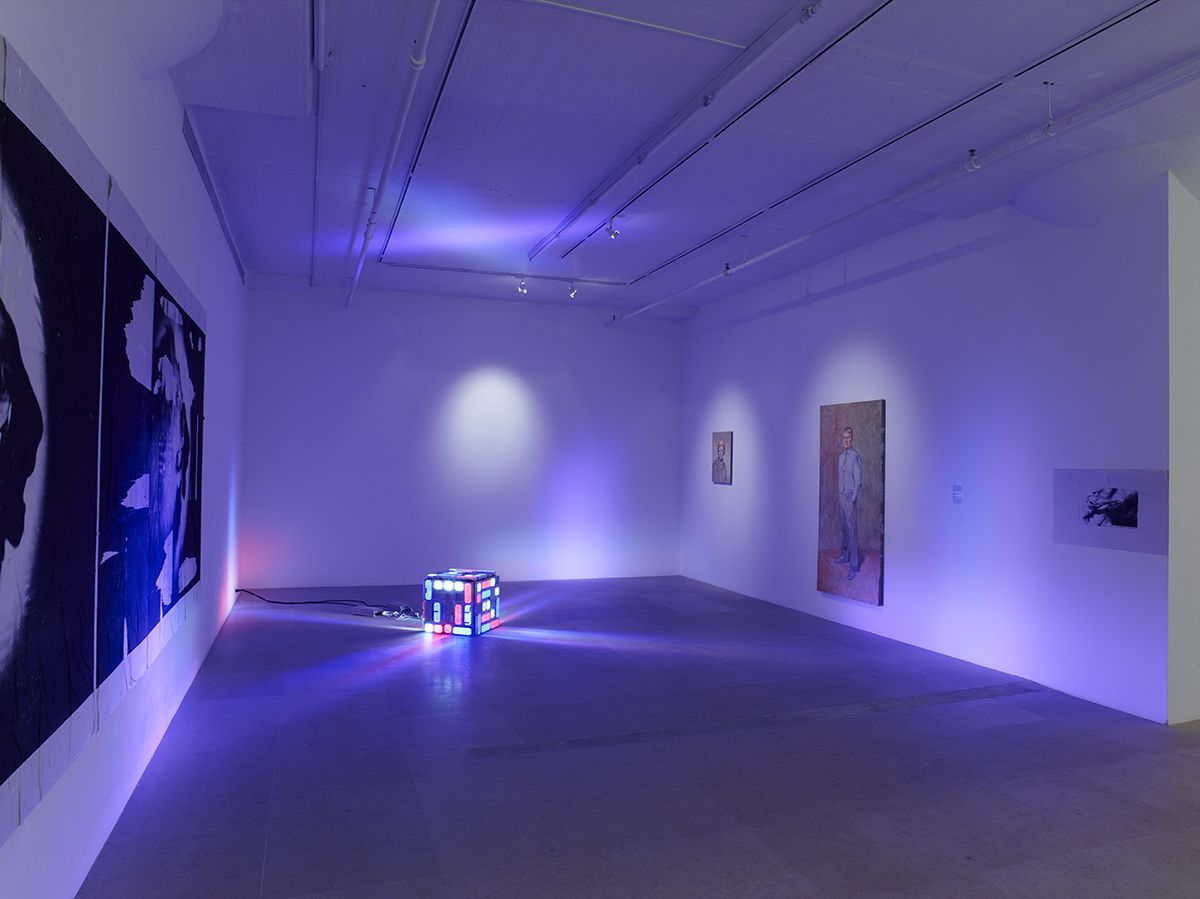 Installation view, Meaning, Inc., Greene Naftali, New York, 2014
