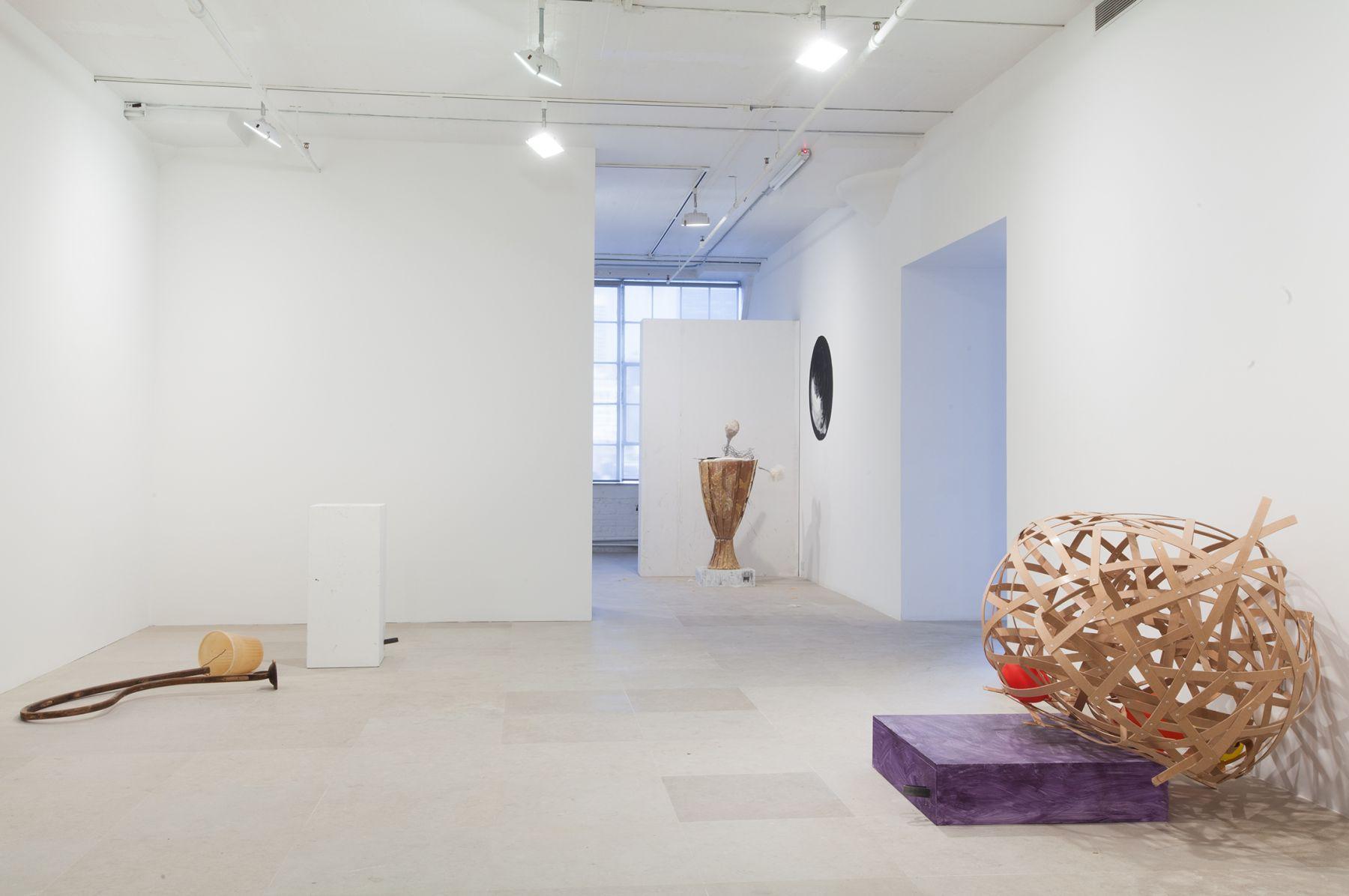 Installation view, The Fall Show, Greene Naftali, New York, 2012