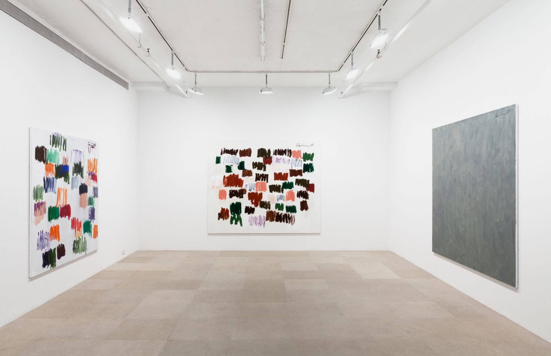 Gunther Forg, Installation view, Greene Naftali, New York, 2012