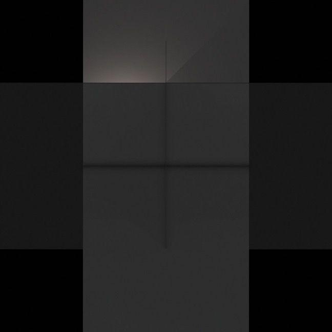 Craig Kalpakjian, Chronotope (render 4), 2015, Inkjet on paper, 88 x 88 inches (223.5 x 223.5 cm)