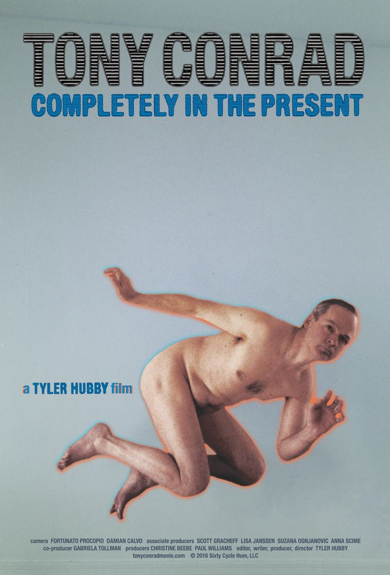 Screening, 'Tony Conrad: Completely in the Present' at AGH Annex, Hamilton, Ontario, Canada, 7 PM