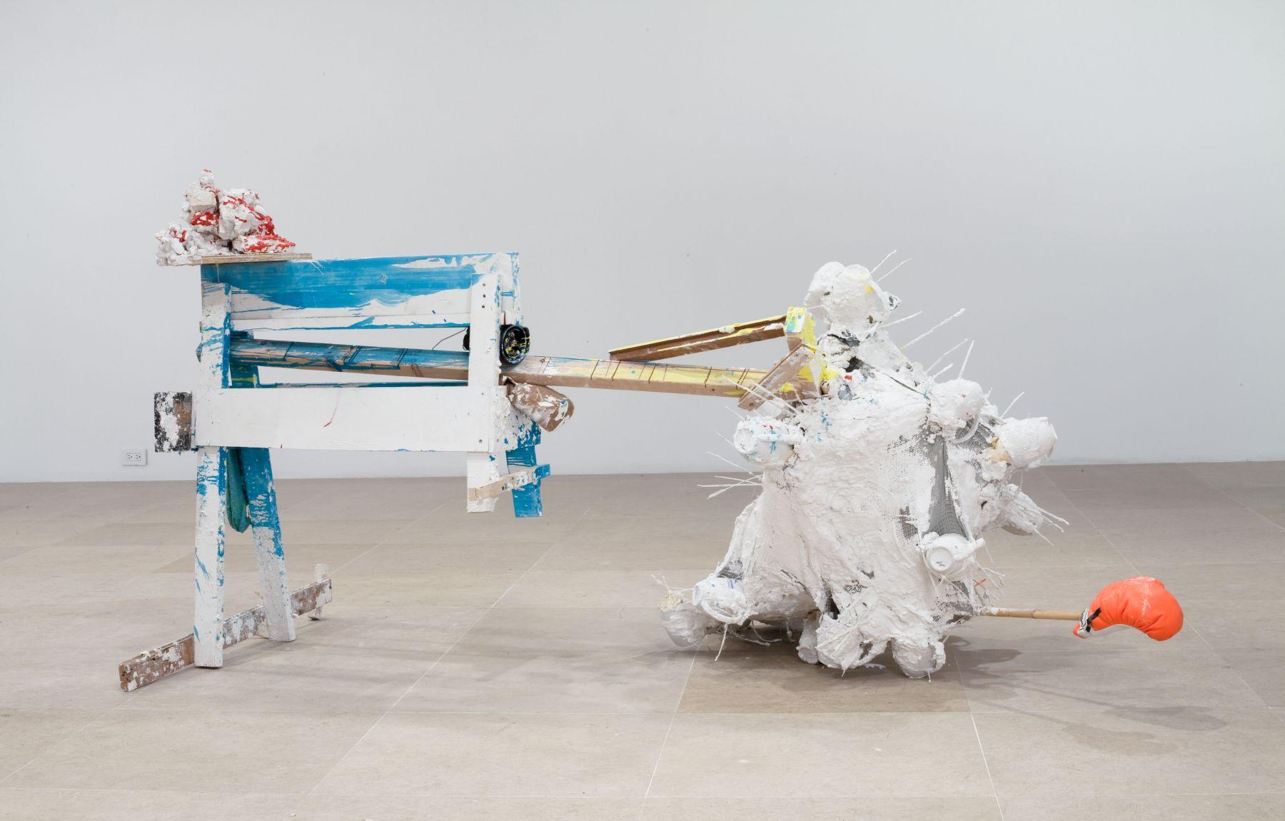 gelitin Untitled, 2010 Mixed media 47 x 48 x 98 inches 119.4 x 121.9 x 248.9 cm