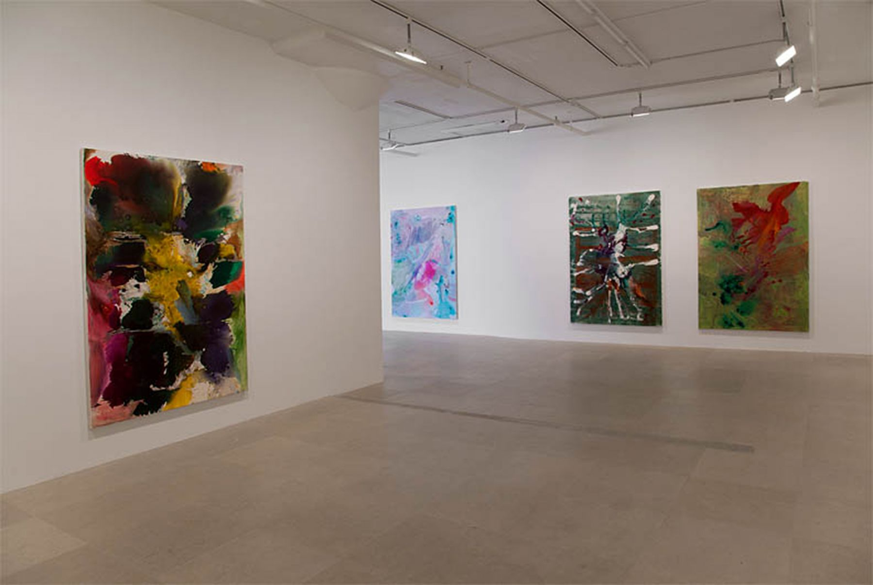 Installation view, Greene Naftali, New York, 2011