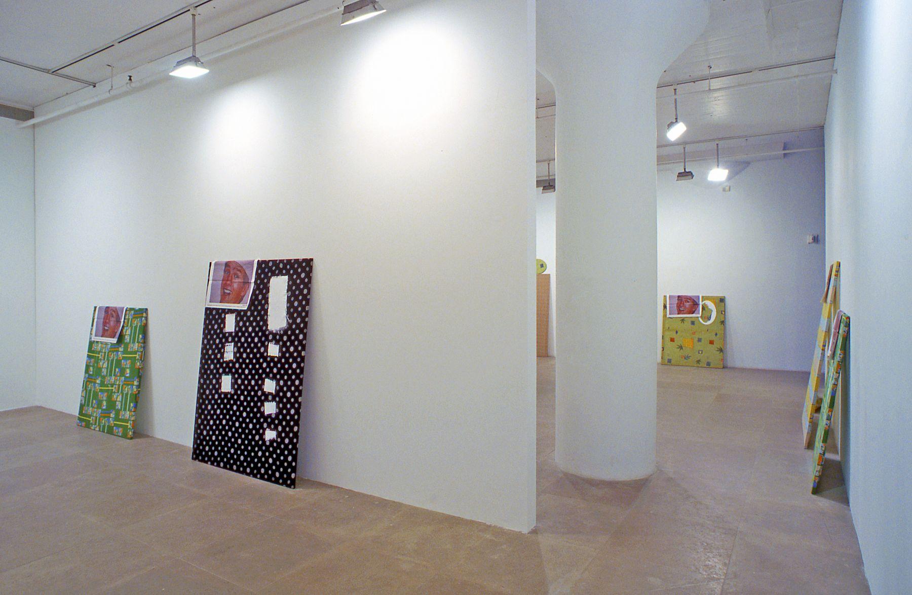 Installation view, Here It Is: The Painting Machine,  Greene Naftali, New York, 2003