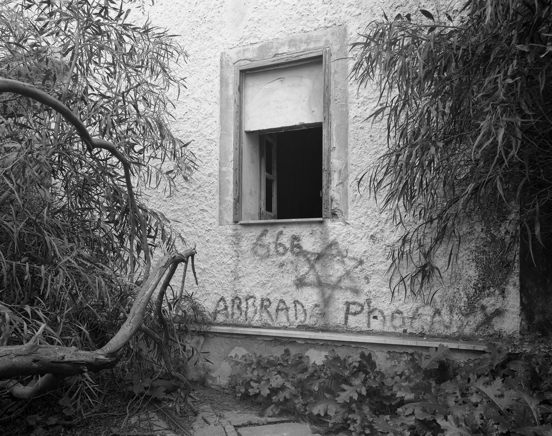 The Abbey of Thelema #4, 2005,  gelatin silver print,  28 ¾ x 33 ½ inches