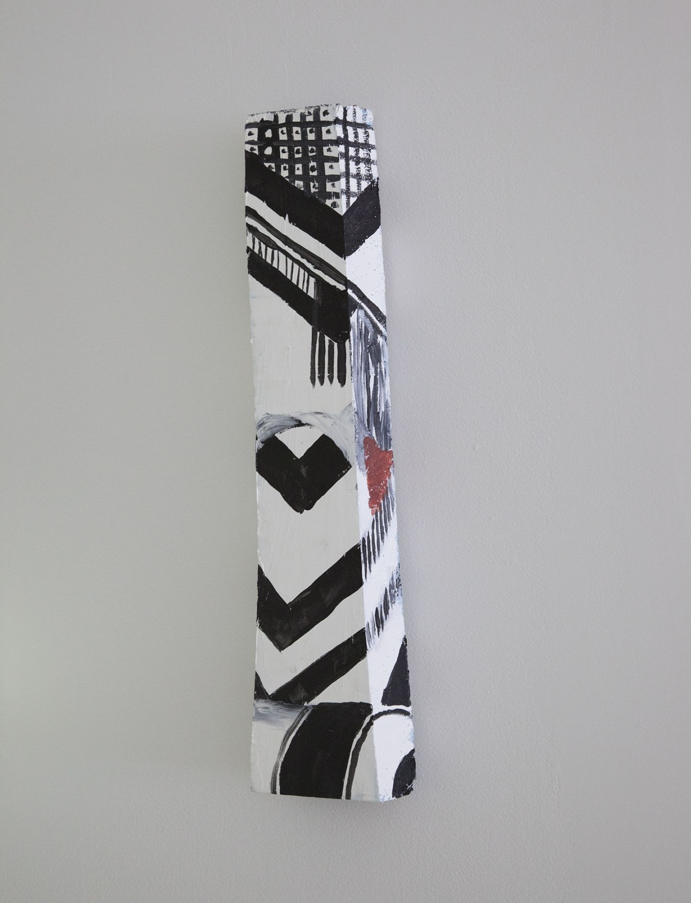 Trisha Baga, Untitled, 2012, Acrylic painted foam, 24 x 5 7/8 x 2 inches, (61 x 14.9 x 5.1 cm)