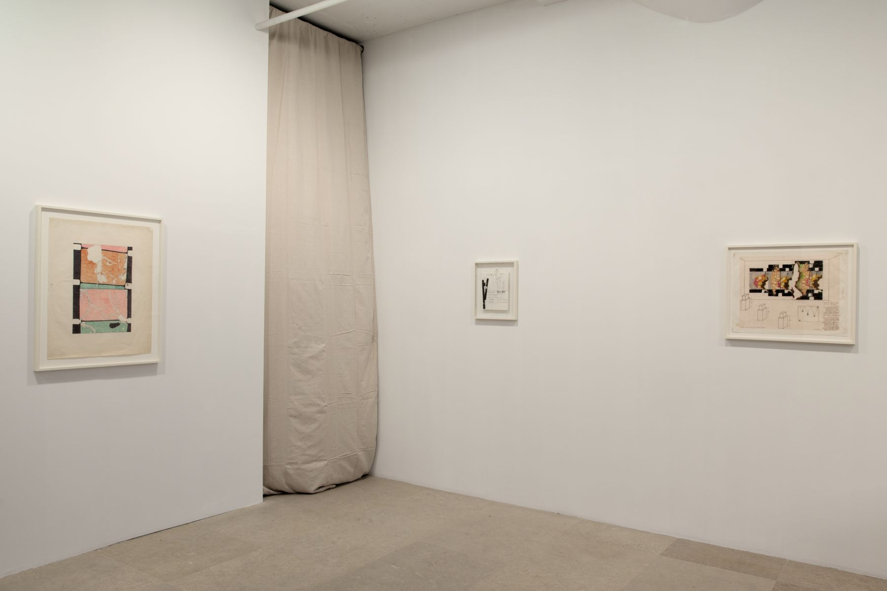Paul Sharits, Installation view, Greene Naftali, New York, 2011