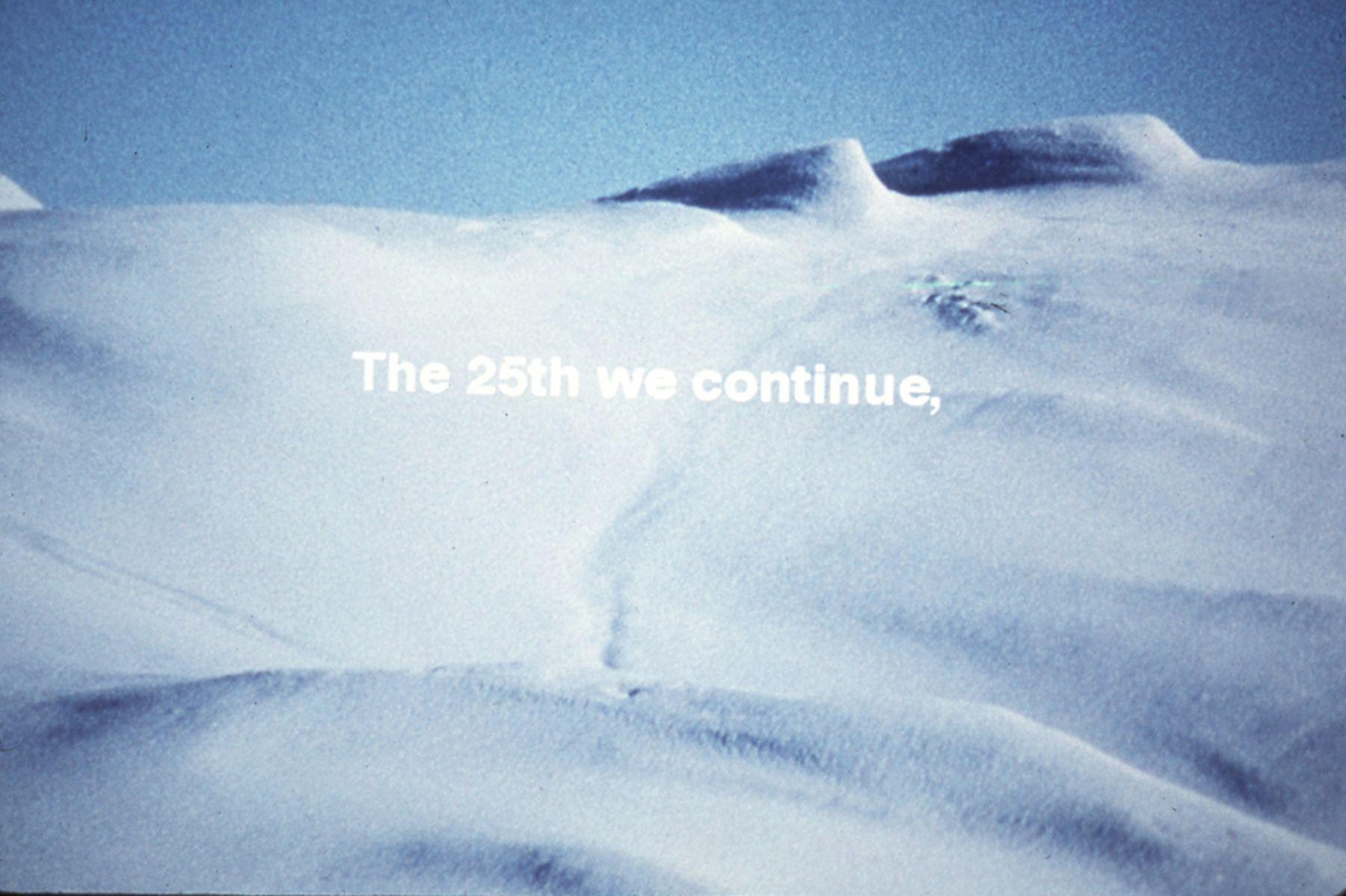 Nordenskiold & the Icecap, 1999-2000
