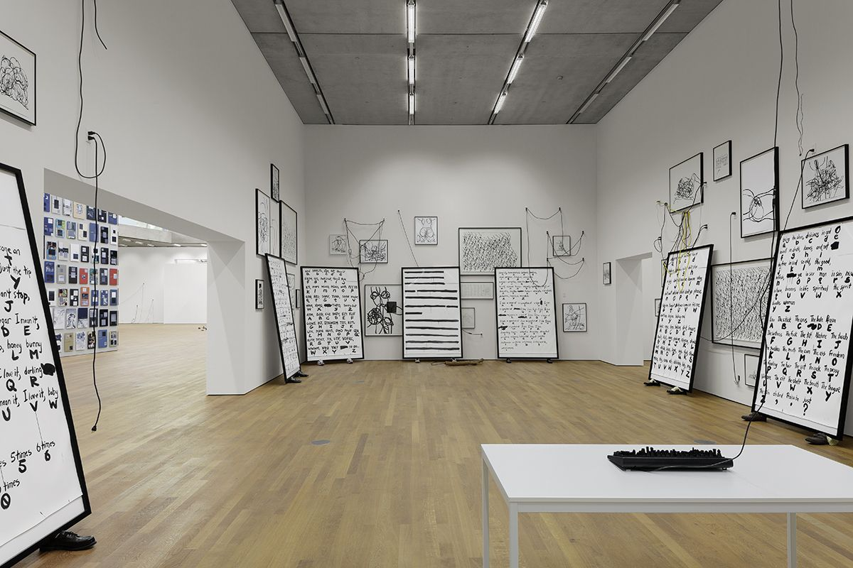 Installation view,Paul Chan - Selected Works, Schaulager, Basel, 2014