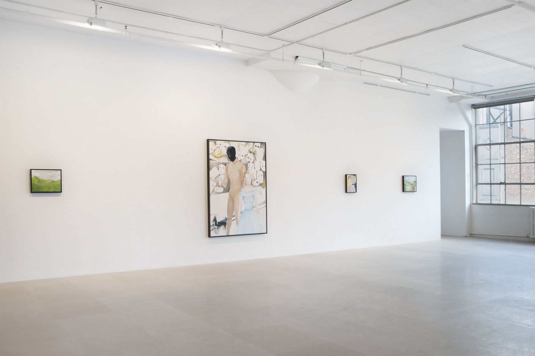 Installation view, ENTERTAINMENT, Greene Naftali, New York, 2011