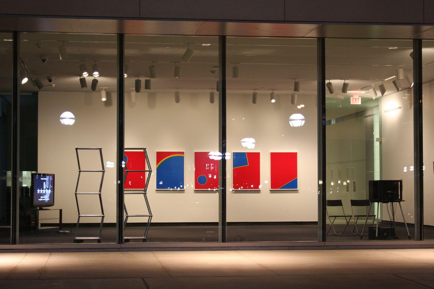 Cory Arcangel, Installation view,Creative Pursuits, University of Michigan Museum of Art, Ann Arbor, 2010