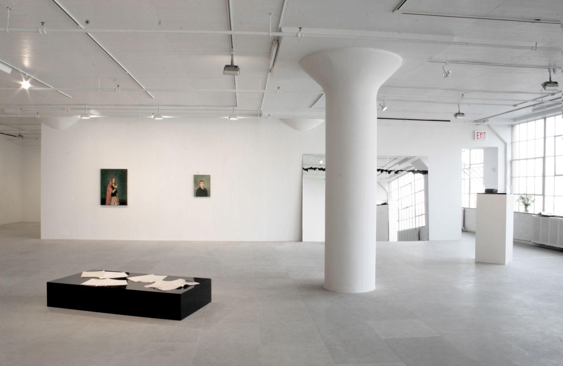 Installation view, Get Over Yourself, Greene Naftali, New York, 2006