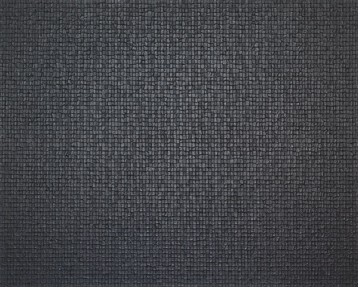 Chung Sang-Hwa  Untitled 07-5-25, 2007  Acrylic on canvas  51 3/8 x 63 7/8 inches (130.3 x 162.2 cm)