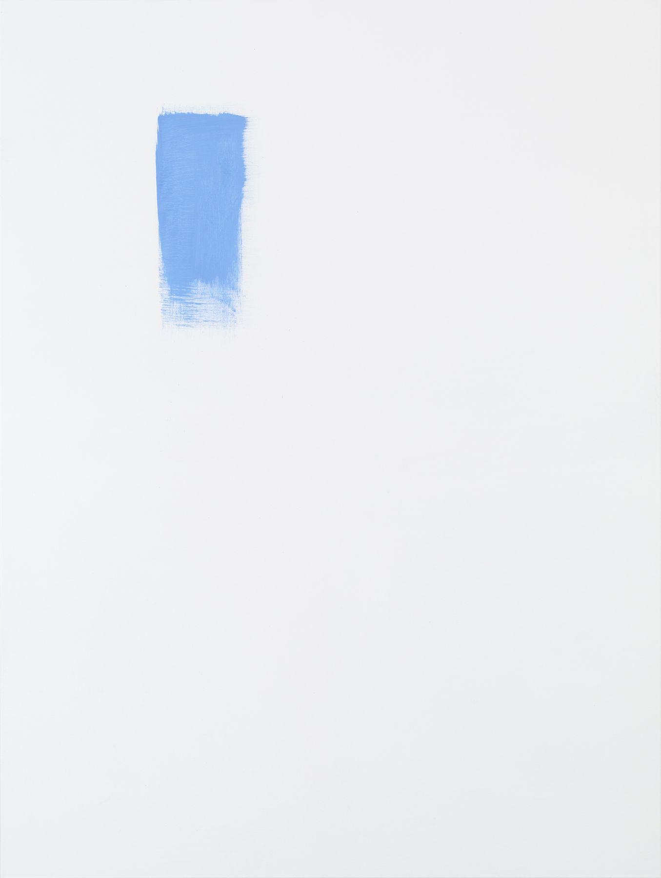 Michael Krebber MK.289, 2015 Acrylic on canvas  78 3/4 x 59 1/8 inches (200 x 150.2 cm)