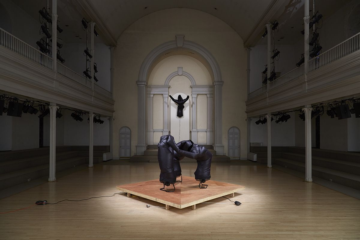 Installation view, Danspace Project, New York, 2016