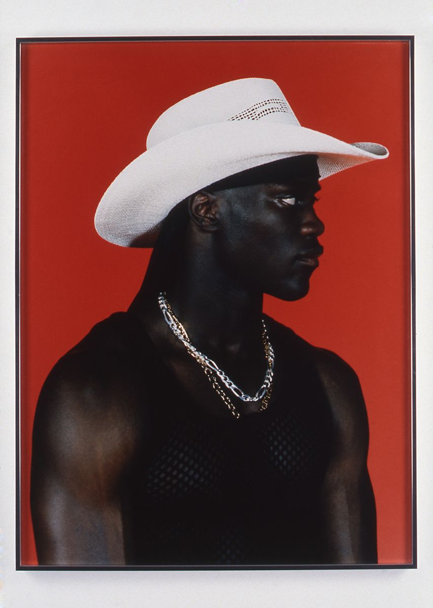 "Chris Moore, Charlton (from the ""Posse"" series), 1997, c-print, 40 x 30 inches framed, time based edition"