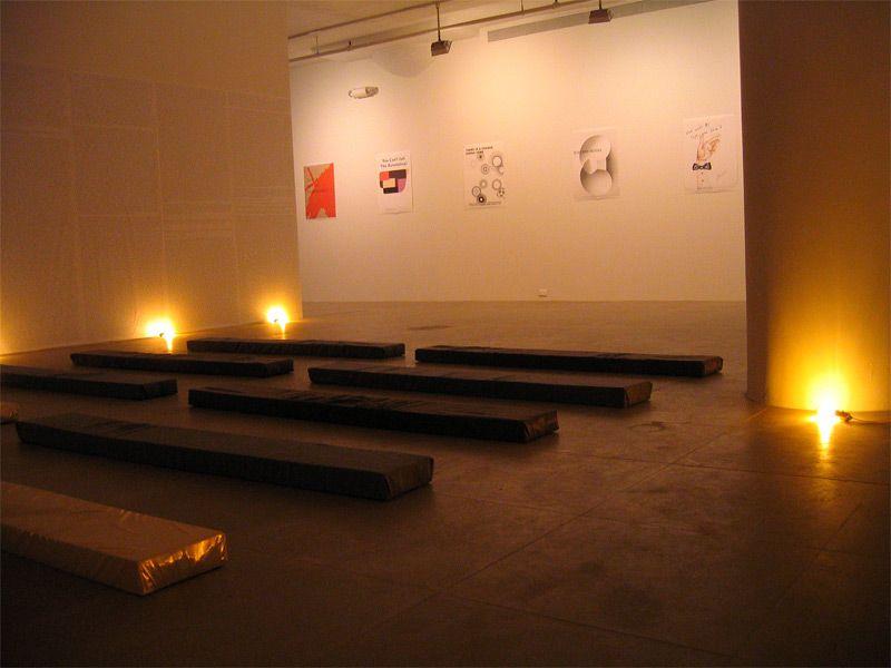 Fia Backström, In Memory of HERD INSTINCT 360º, Greene Naftali, New York, 2006