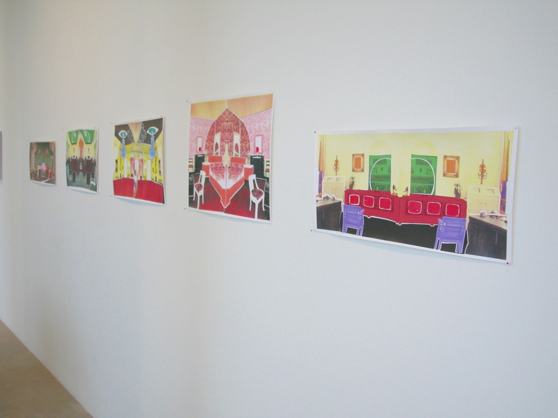 Installation view, Regarding Amy,  Greene Naftali, New York, 2003