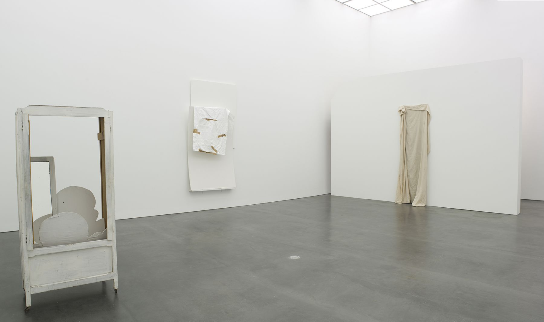 Installation view, The Language of Less, Museum of Contemporary Art, Chicago, 2011