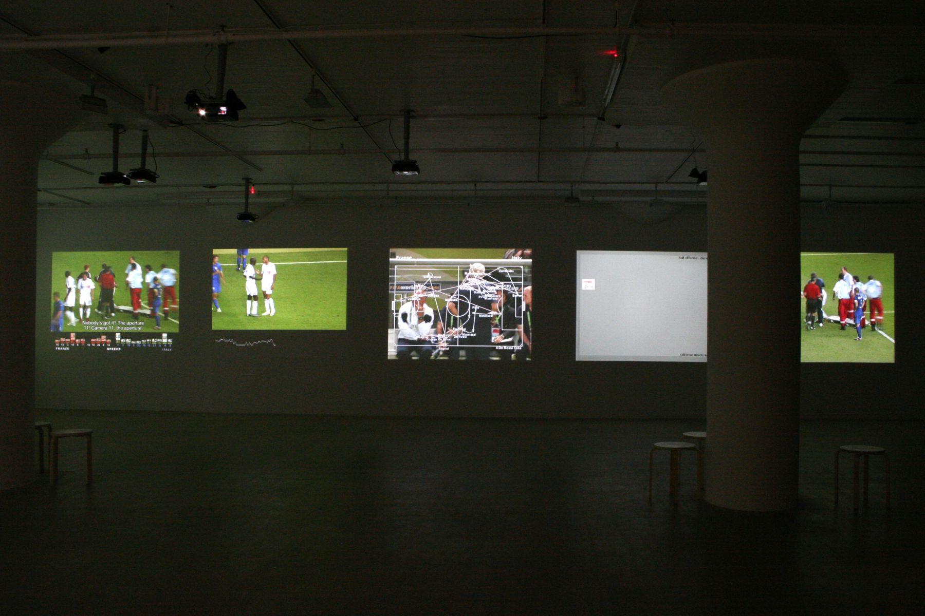 Installation view, Deep Play, Greene Naftali, New York, 2008