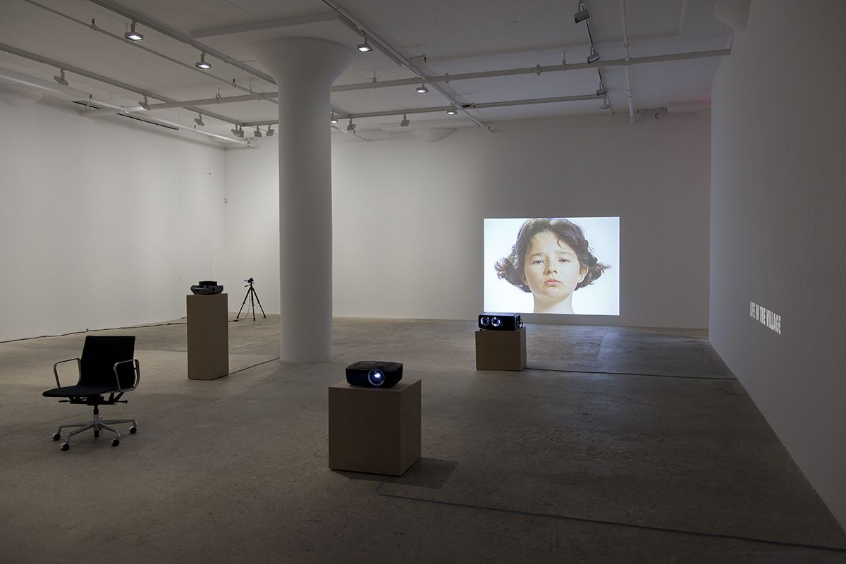 John Knight, Installation view, in situ, Greene Naftali, New York, 2015