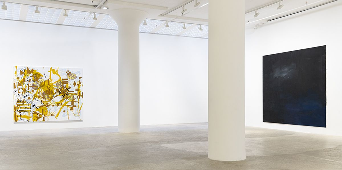 Installation view, 7 Painters, Greene Naftali, New York, 2019