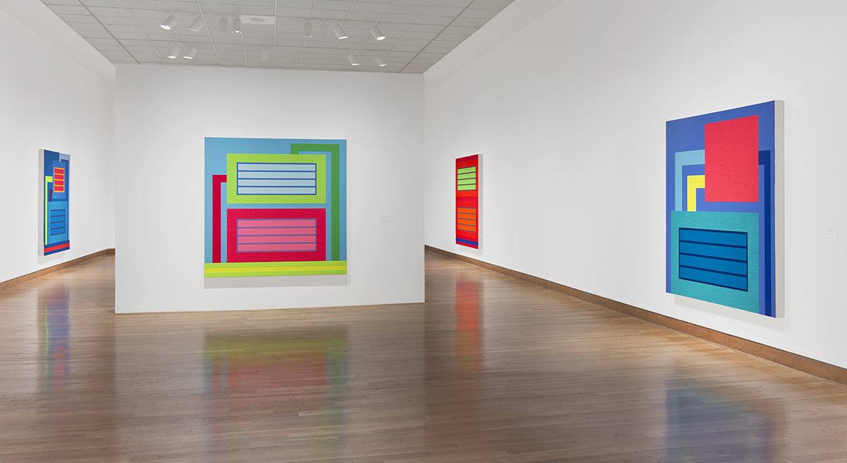 Geometry of the Absurd: Recent Paintings by Peter Halley, Santa Barbara Museum of Art, Santa Barbara, CA, 2015