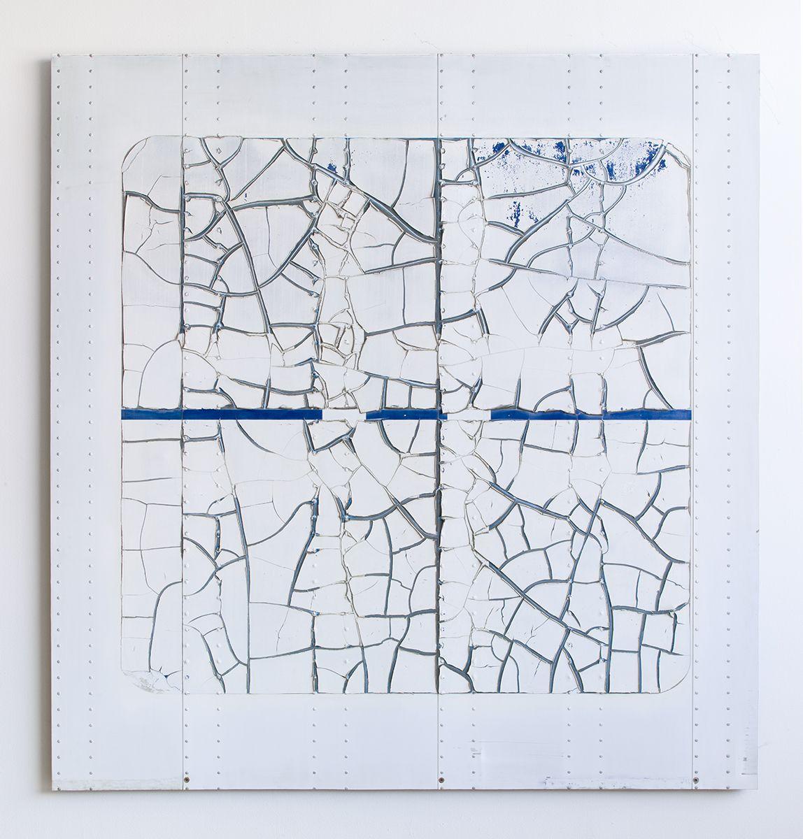 Gedi Sibony Untitled, 2013 Trailer 99 x 88 inches (251.5 x 223.5 cm)