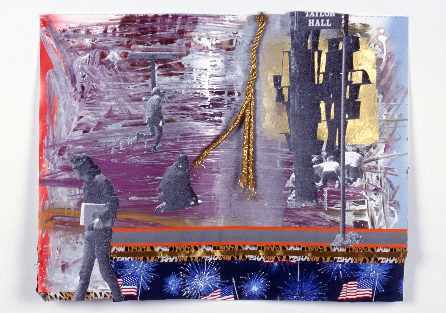 Ohio Heart of it All II, ca. 2005, mixed media on paper