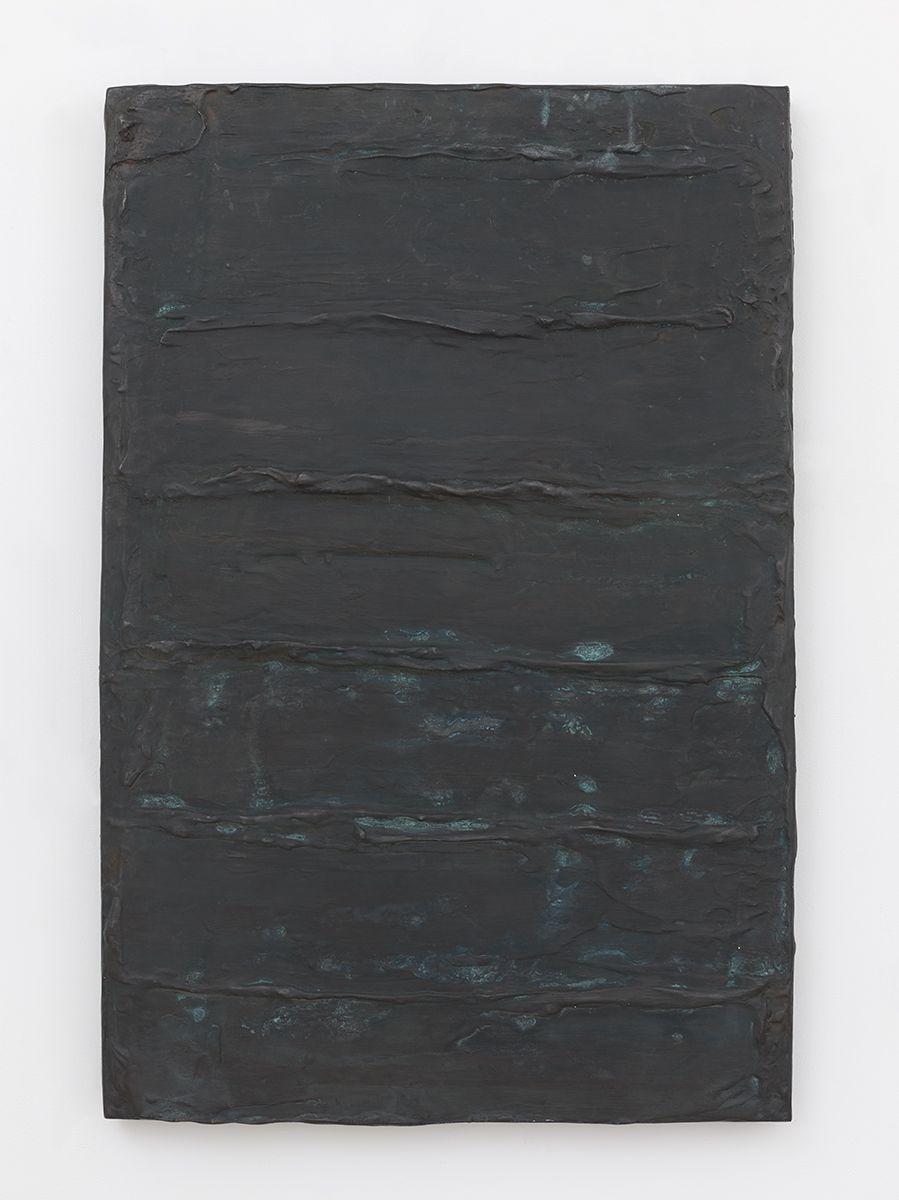 Günther Förg Untitled, 1990 Bronze Relief  47 1/4 x 31 1/2 x 3 1/8 inches (120 x 80 x 8 cm)