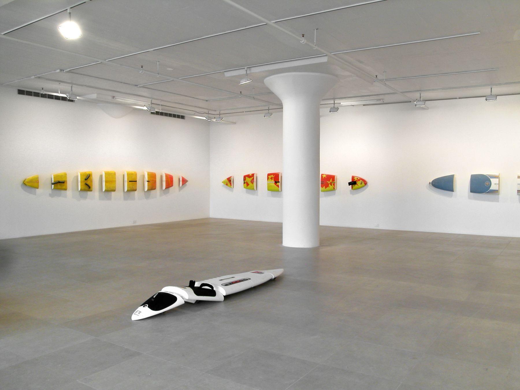 Michael Krebber, Installation view, Greene Naftali, New York, 2008
