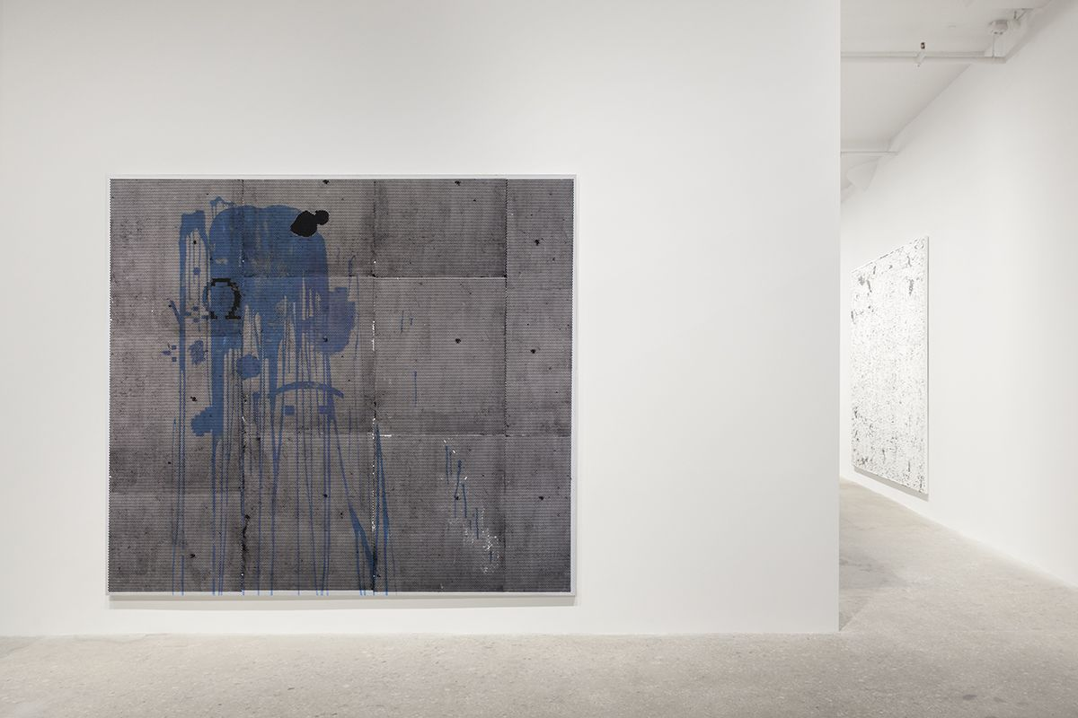 Jacqueline Humphries, Installation view, Greene Naftali, New York, 2017